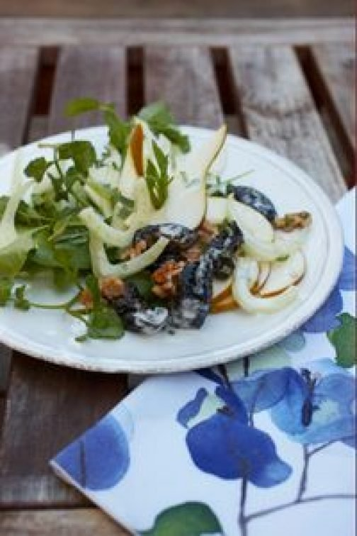 Pear, Prune and Fennel Salad