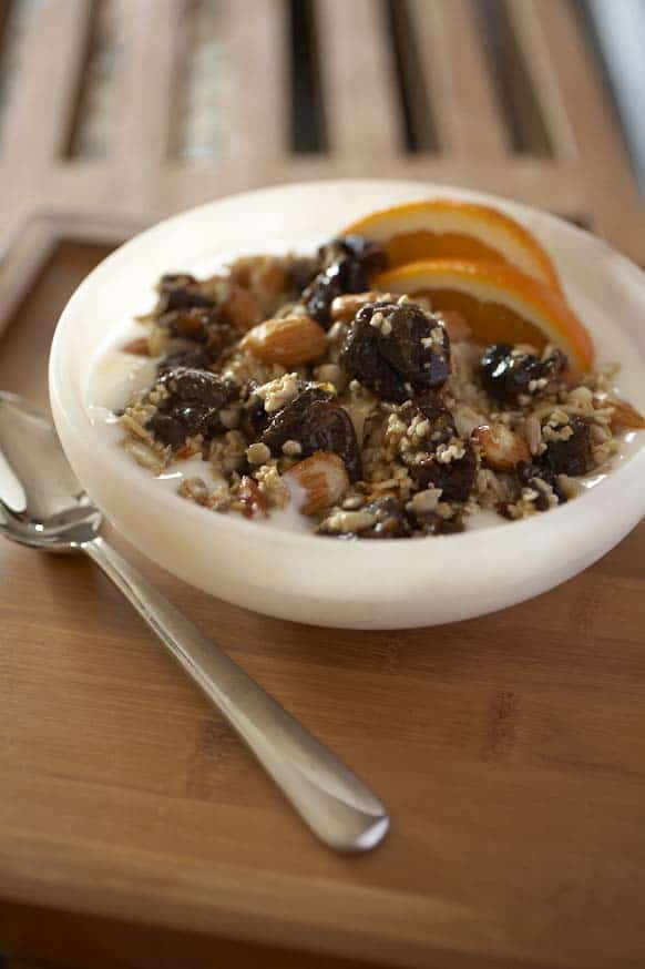 Photo of Bircher Muesli with California Dried Plums