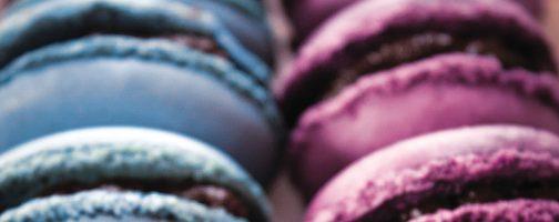 California Prune and Chocolate Macaroons