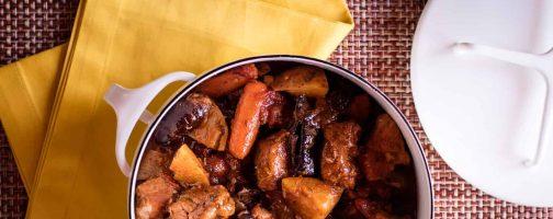 Chipotle Pork Stew with Prunes