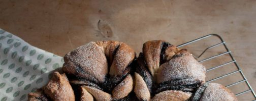 Tear and Share California Prune Brioche