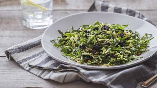 Orzo & Arugula Salad with California Prunes