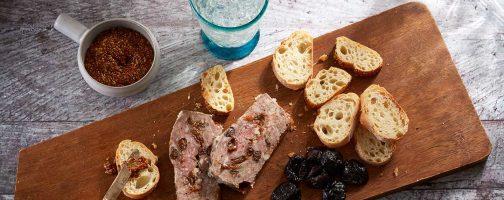 Sonoma Lamb and Prune Pate