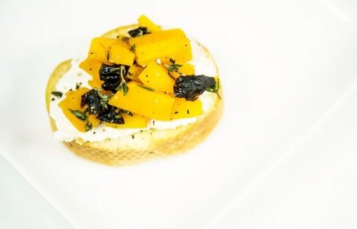 Easy Butternut Squash Crostini