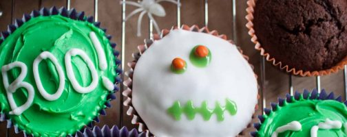 California Prune and Orange Cupcakes