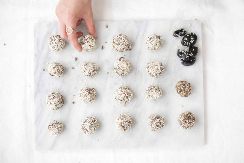 Sesame Seed California Prune Balls