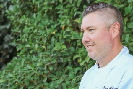 Chef and prune grower Joe Mitchell