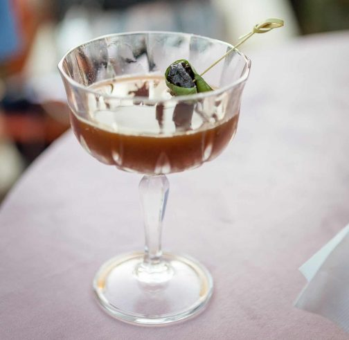 Fashionable Prune Cocktail