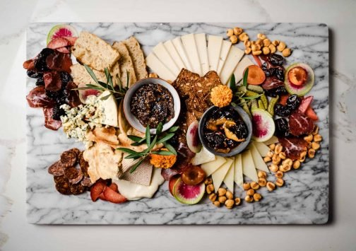 The Ultimate Cheese Board with California Prunes