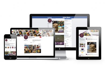 Social media on screens image