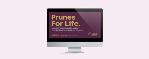 California Prunes Wellness Hub