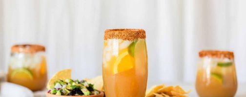 California Prune and Fresh Orange Margarita