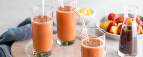 Tropical Prune Juice Smoothie