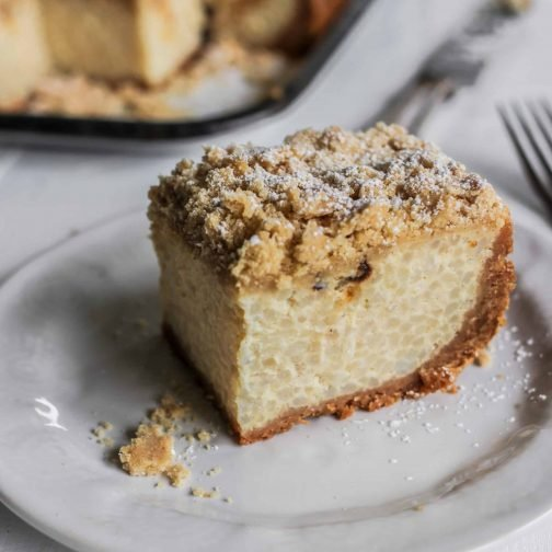 Diner-style Rice Pudding Cheesecake