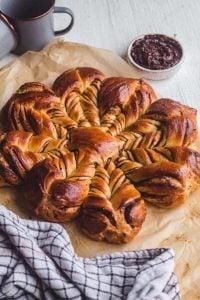 Prune Star Bread