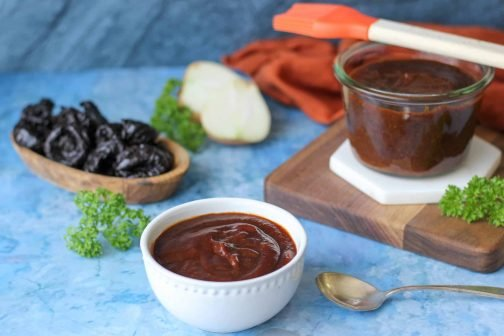 Easy BBQ Sauce Recipe | Naturally Sweetened with California Prunes (Low Sugar + Paleo Friendly)