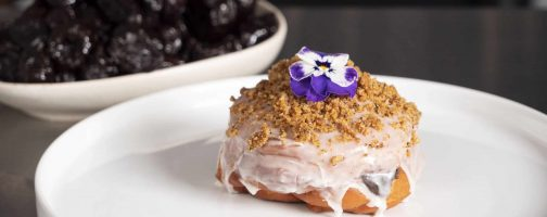 Jelly Donut with California Prunes