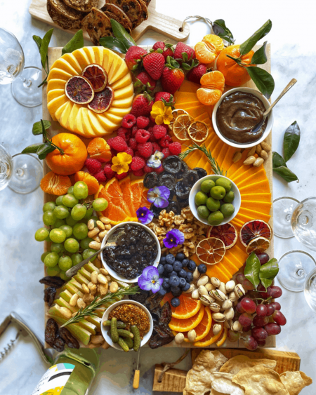 Cheese Board with Prune Pinot Jam