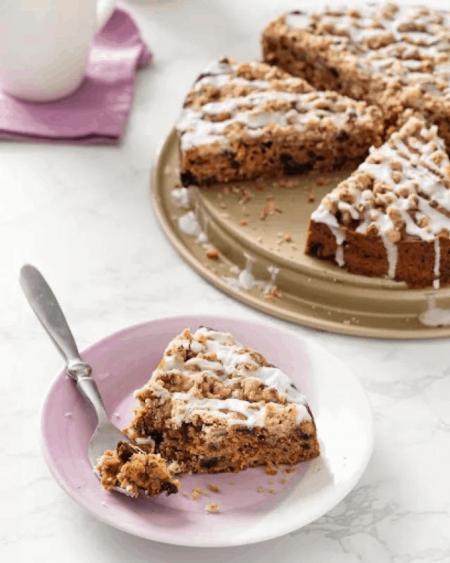 Hummingbird Prune Coffee Cake