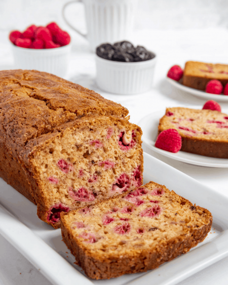 Raspberry Prune Bread
